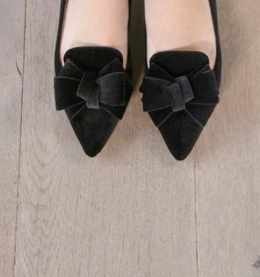 SALMA BLACK CHiE zapatos