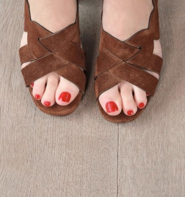 BALBINA BROWN CHiE MIHARA sandals