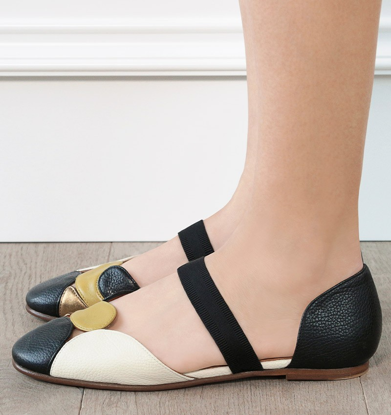VACHEL BLACK CHiE MIHARA shoes
