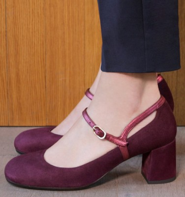 POPY GRAPE CHiE MIHARA zapatos