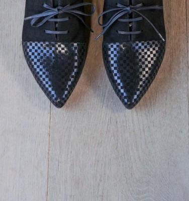 ROLY CHESS BLACK CHiE MIHARA zapatos