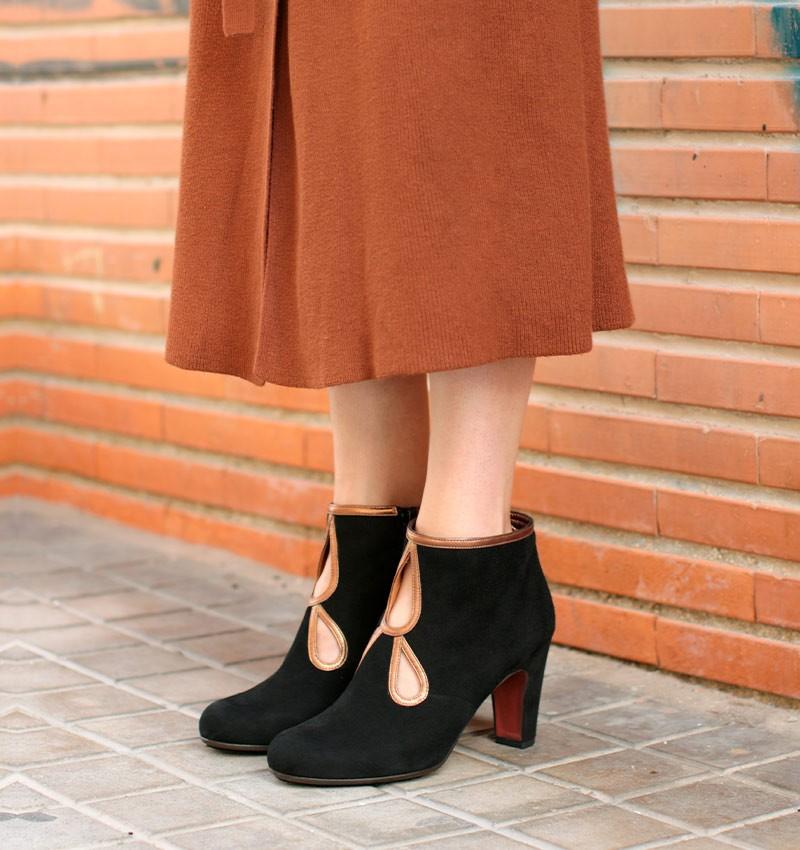 KOSPI BLACK CHiE MIHARA boots
