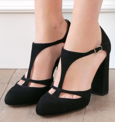 DO-DAYLILY BLACK CHiE shoes