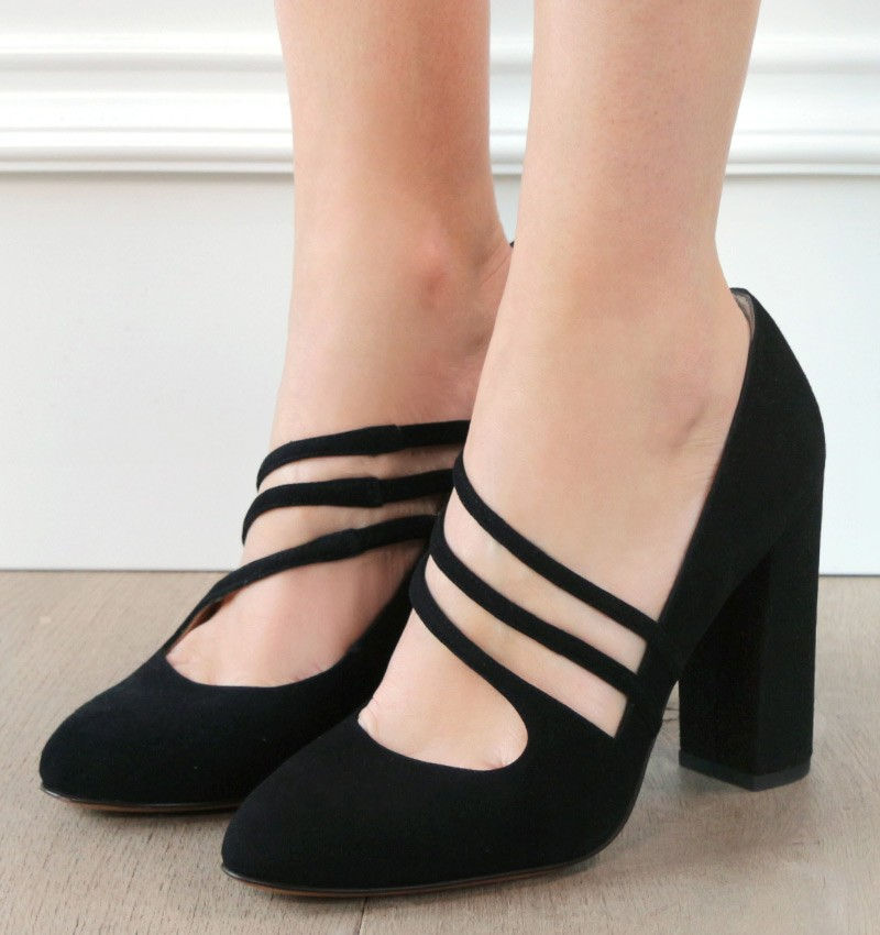 DULA BLACK CHiE zapatos