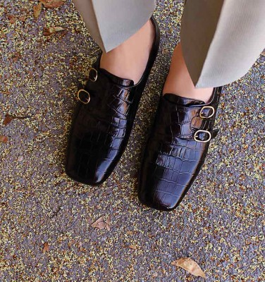 ZELIS BLACK CHiE MIHARA shoes