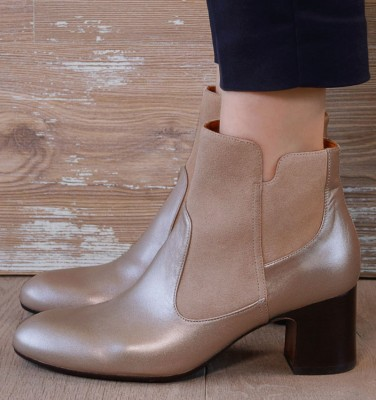 NICA GOLD boots CHiE MIHARA
