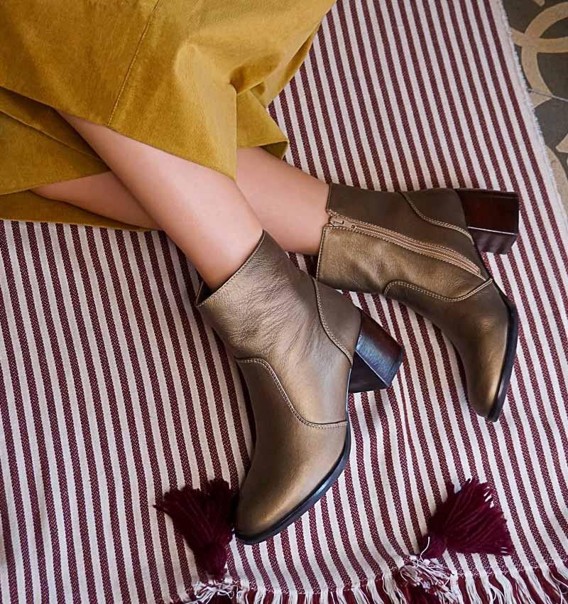 ORITA GOLD CHiE MIHARA botas