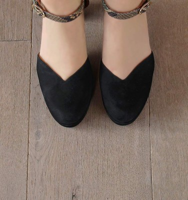 JO-MAHO BLACK CHiE MIHARA shoes