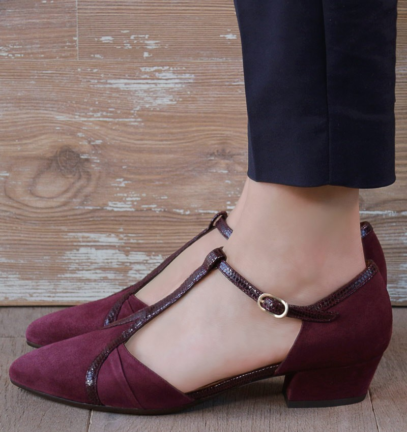 ROI GRAPE CHiE MIHARA zapatos
