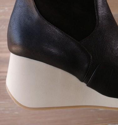 TABARI BLACK boots CHiE MIHARA