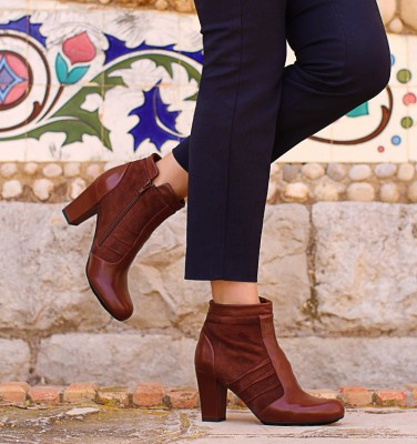 UNAX TERRA CHiE MIHARA boots