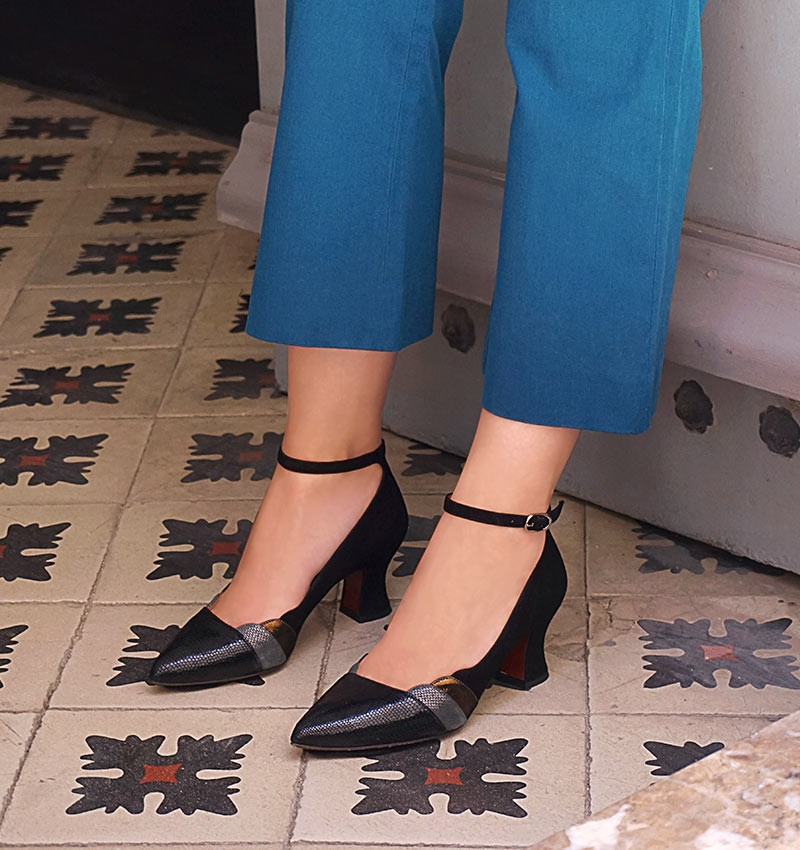 VODEN BLACK CHiE MIHARA shoes