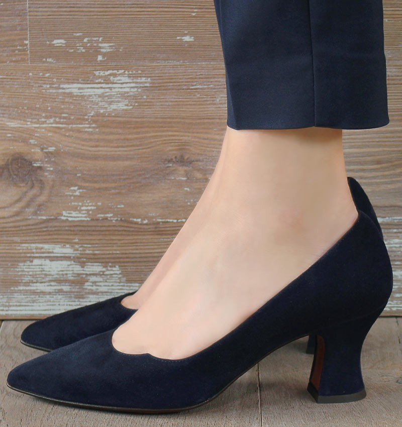 VORNA DARK BLUE CHiE MIHARA shoes