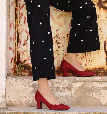VORNA RED CHiE MIHARA shoes