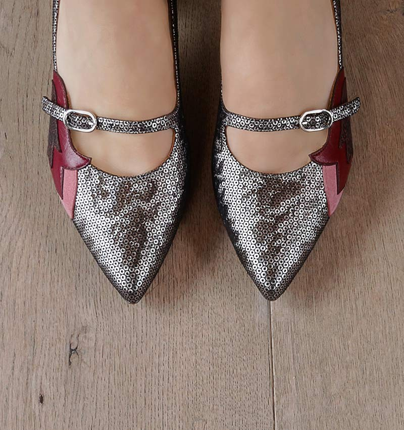 VOTO SILVER CHiE MIHARA shoes