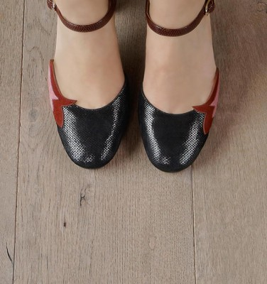 WABAN BLACK CHiE MIHARA shoes