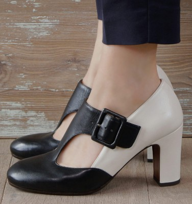 WALDEN BLACK & WHITE CHiE MIHARA shoes