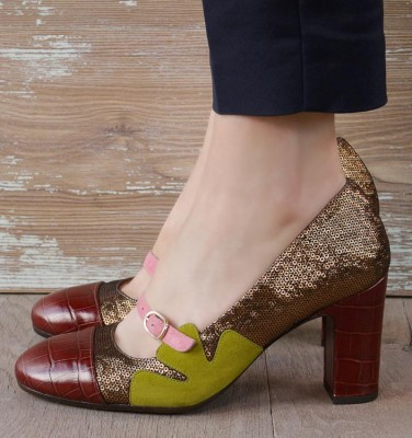 WEDAN REDDISH BROWN CHiE MIHARA shoes