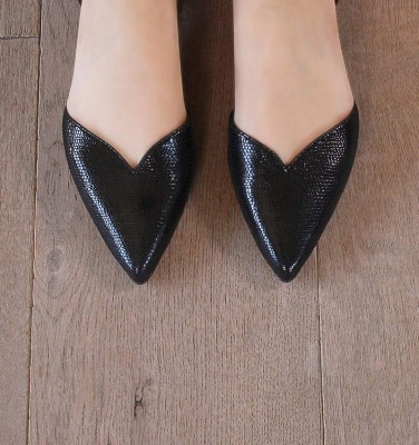 YOLET BLACK CHiE MIHARA shoes