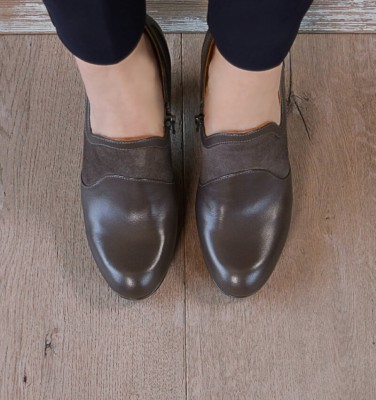 CAFUNE GREY CHiE MIHARA shoes