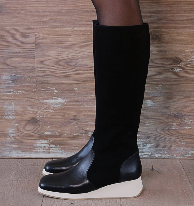 ARKIN BLACK CHiE MIHARA boots
