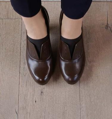 CEMITA DARK BROWN CHiE MIHARA zapatos