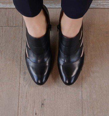 E-DANDY BLACK CHiE MIHARA zapatos