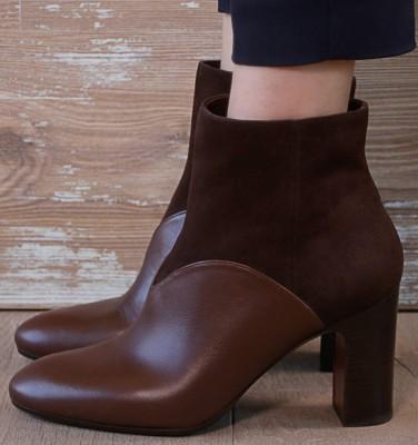 EDNA DARK BROWN CHiE MIHARA boots
