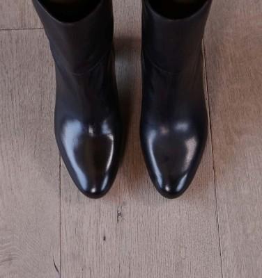 ENISTA DARK BROWN CHiE MIHARA boots
