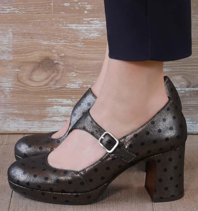 HIMOSA BRONZE CHiE MIHARA zapatos