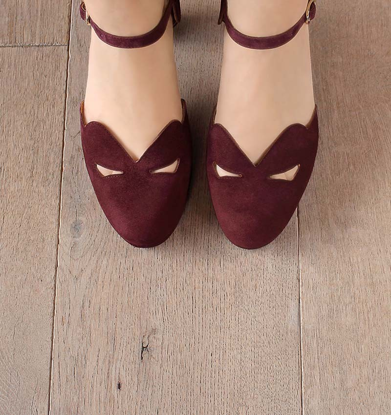 CEMIL GRAPE CHiE MIHARA zapatos
