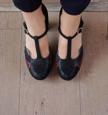 DIDO NAVY CHiE MIHARA shoes
