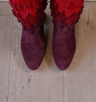 ECEL GRAPE CHiE MIHARA boots