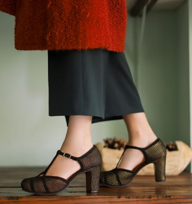 I-VELIKA BLACK CHiE MIHARA shoes