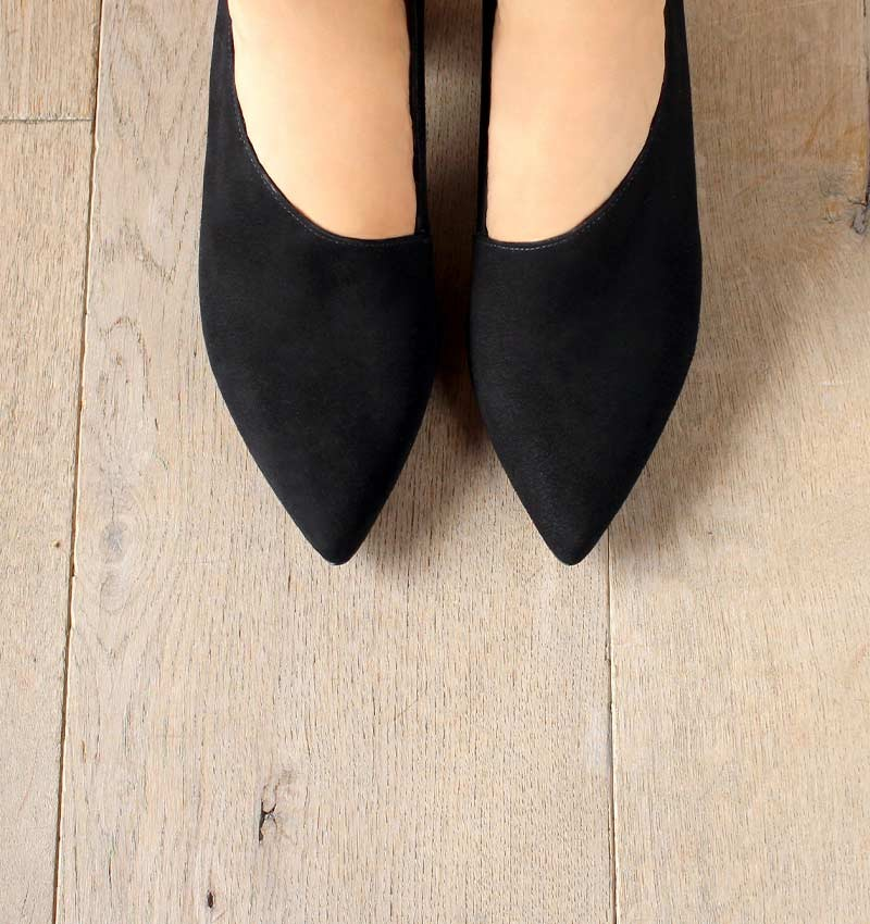 LOA BLACK CHiE MIHARA shoes