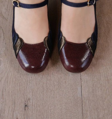 POPA GRAPE CHiE MIHARA shoes