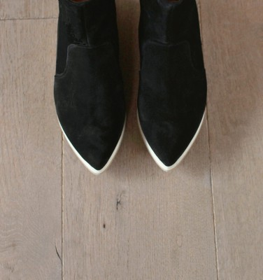 VELI WEST BLACK boots CHiE MIHARA