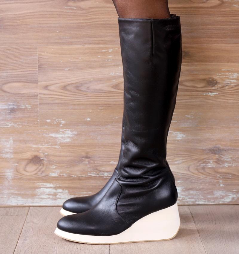 YELIKA BLACK CHiE MIHARA bottes
