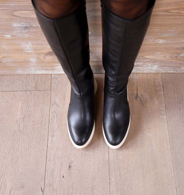 YELIKA BLACK CHiE MIHARA botas