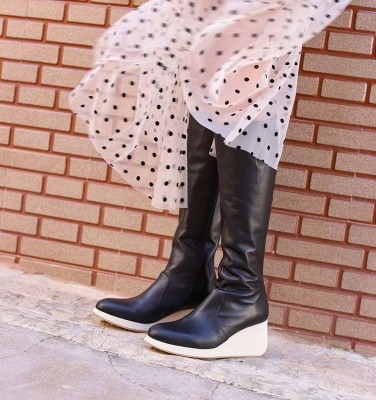 YELIKA BLACK CHiE MIHARA boots