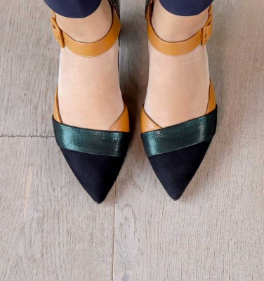 VOTULA BLACK CHiE MIHARA shoes