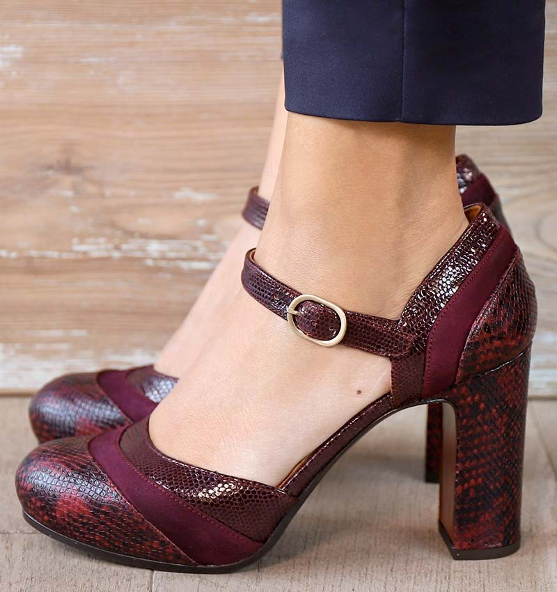DELIA GRAPE CHiE MIHARA shoes