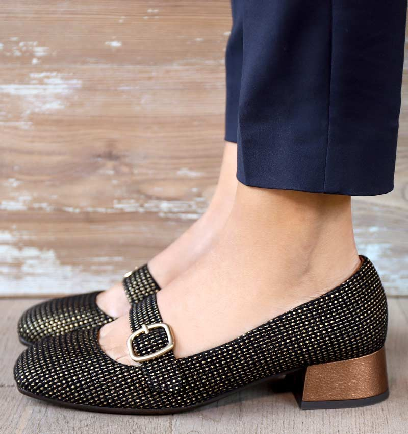 ZAMA BLACK CHiE MIHARA shoes