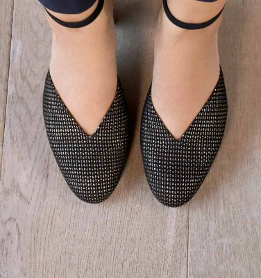 E-DARI BLACK CHiE MIHARA shoes