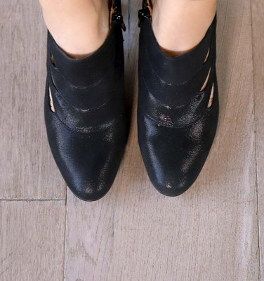 EV-DANDY-C BLACK CHiE MIHARA shoes