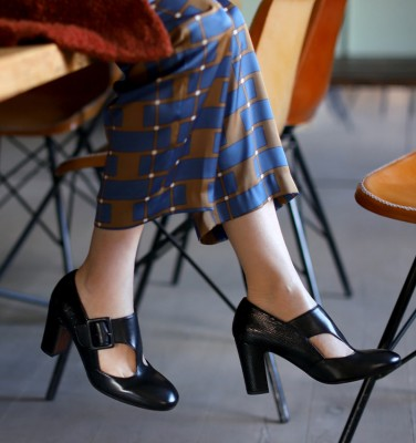 WALDEN BLACK CHiE MIHARA shoes