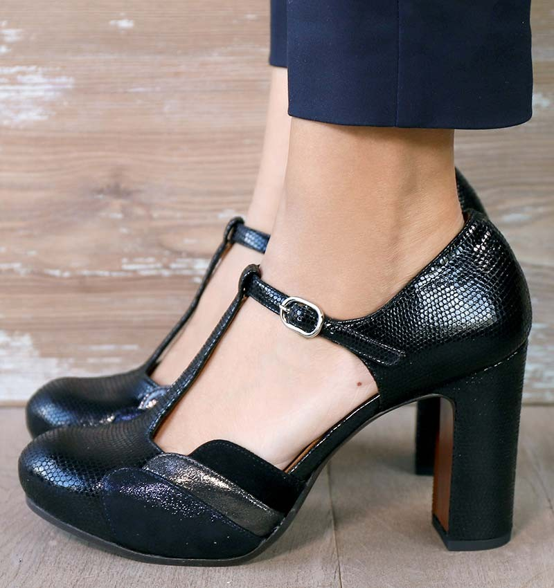 DIDO BLACK CHiE MIHARA shoes