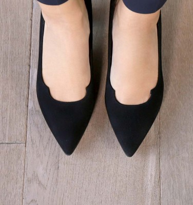 VORNA BLACK CHiE MIHARA shoes