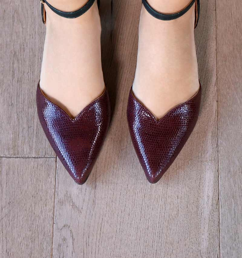 YOLET GRAPE CHiE MIHARA shoes