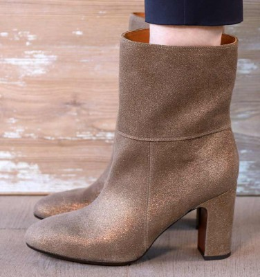 ENISTA-P BRONZE CHiE MIHARA boots